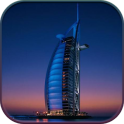 HD Dubai Night Live Wallpaper