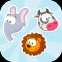 Animals Memory game (No Ads)