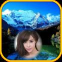 mountain view photo frames