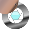 Peephole motion detector