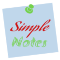 SimpleNote Sticky Note