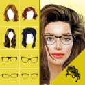 Hairstyle Changer app, virtual makeover women, men