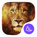 Animal King Lion theme-APUS Launcher