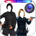Police Woman Photo Maker Cam