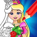 Princess Coloring Book Games