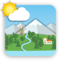 Animated Landscape Weather Live Wallpaper FREE