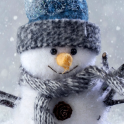 live snowman wallpaper