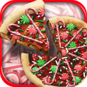 Christmas Candy Pizza Maker Fun Food Cooking Game