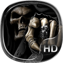 skull family live wallpaper HD