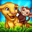 Zoo Insel: rettet die Tiere
