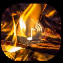 Fire sounds ~ Fire wallpaper Sleep sounds HD