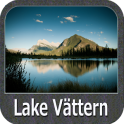 Lake Vattern GPS Fishing Charts