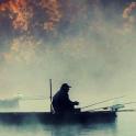 fishing lake live wallpaper