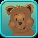Teddybär Kinderpuzzle