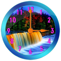 Waterfall Clock Widget