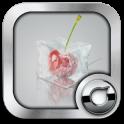 3D Ice Cubes Solo Launcher Theme