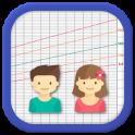 My Baby Charts: percentiles