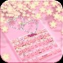 Rose Gold Diamond Keyboard