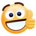 Free Thumbs Up Emoji Sticker
