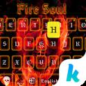 Fire Soul Skull Keyboard Theme