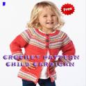 Crochet Pattern Child Cardigan