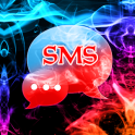 Color Smoke Theme GO SMS Pro