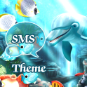 Sea Fish Theme GO SMS Pro