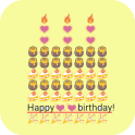 Birthday Art -Emoji Keyboard