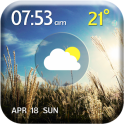 Awesome Weather Clock Widget