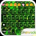 Shining Shamrock Emoji Theme