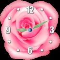 Roses Horloge Widget
