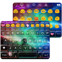 Rainbow Aurora Emoji Keyboard