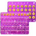 Glitter Pearl Keyboard Theme
