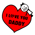 Free Father's Day Sticker GIF