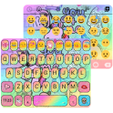 Pop Art Emoji Keyboard Theme