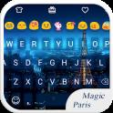 Magic Paris Emoji Keyboard
