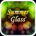 Summer Glass Emoji Keyboard