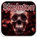 Skeleton Emoji Keyboard Theme
