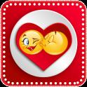 Love Emoticons & Kiss Emoji