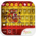 Spain Emoji Keyboard Theme