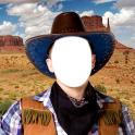 Cowboy-Foto-Montage