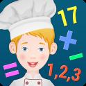 дети-повар - учить математика
