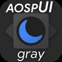 aospUI Gray,Substratum/Synergy Dark theme +OneUI