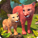 Mountain Lion Family Sim