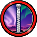 Zipper Lock Screen – Aurora