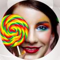 Lollipop Photo Collage