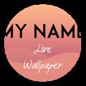 Mon nom live wallpaper