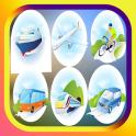 véhicules automobiles et jeux