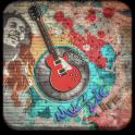संगीत जीवन गिटार विषय