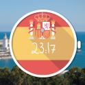 Spanish Flag Watch Face